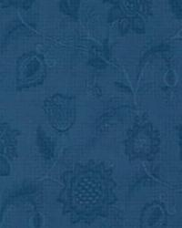 Blue Quilted Matelasse Fabric  Meadowbrook LA1085 50 Indigo
