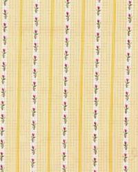 Laura Ashley Band Box Stripe LA1269 401 Maize Fabric