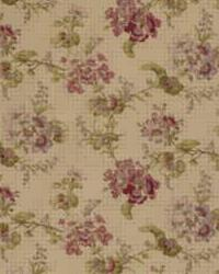 Laura Ashley WAKEMORE LA1302 910 MULBERRY Fabric