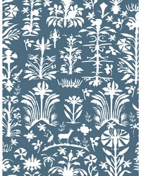 SALINAS WP LCW1035 001 AZUL by  Kravet Wallcovering