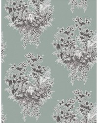 VALJUNCO WP LCW1036 003 GRIS AZULADO by  Kravet Wallcovering
