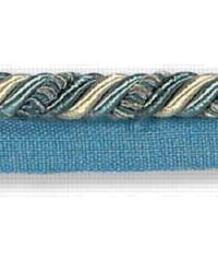 Blue Kravet Trim Kravet Trim Ribbon Flanged Cord Cadet