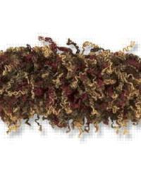 Moss Fringe T30255 319 Claret Brush Fringe by