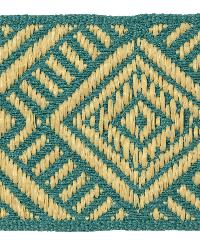 Bistro Braid T30609 335 Turquoise Braid by