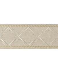 Diamond Trellis Pearl by  Kravet Trim