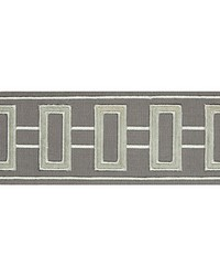 GRID LOCK T30769 11 STEEL GREY by  Kravet Trim