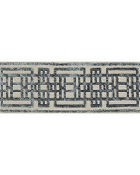 CIRCUIT BORDER T30779 1105 SLATE by  Kravet Trim
