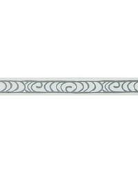 Silver Kravet Trim Kravet Trim WAVE CURL T30803 1101 SILVER