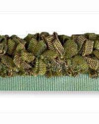 Green Kravet Trim Kravet Trim Petite Ribbon Rouche Olive