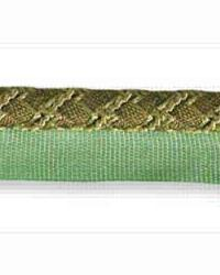 Braided Ribbon Cord Olive by  Kravet Trim