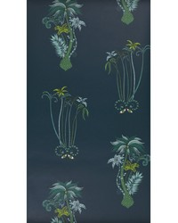 JUNGLE PALMS W0101/03 CAC NAVY by