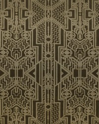 Brandt Geometric Bronze by  Ralph Lauren Wallpaper
