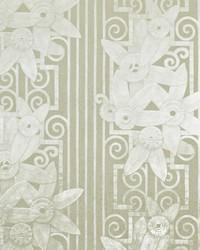 Fleur Moderne Pearl Grey by  Ralph Lauren Wallpaper