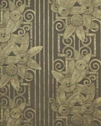 Fleur Moderne Bronze by  Ralph Lauren Wallpaper