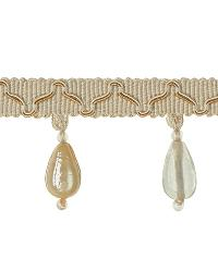 Grey Beaded Trim  01873 Neutral