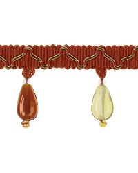 Brown Beaded Trim  01873 Spice