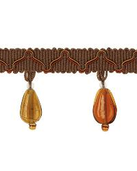 Brown Beaded Trim  01873 Brown