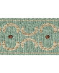 Brown Fabric Trim Border  01872 Aqua