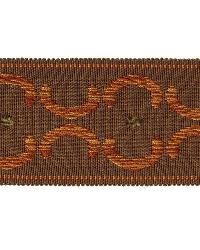 Brown Fabric Trim Border  01872 Brown