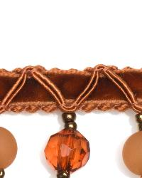 Orange Beaded Trim  01961 Spice