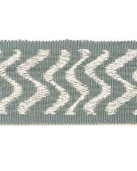 Green Fabric Trim Border  02024 Surf