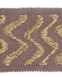 Purple Fabric Trim Border  02024 Dusky Amethyst