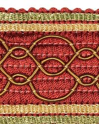 Red Fabric Trim Border  02108 Cardinal