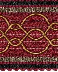 Red Fabric Trim Border  02108 Berry