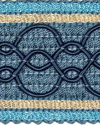 Blue Fabric Trim Border  02108 Cobalt