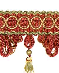 Red Beaded Trim  02110 Cardinal