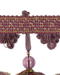 Purple Beaded Trim  02111 Hydrangia