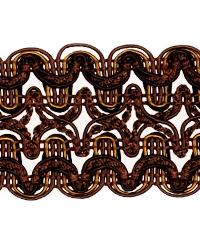 Brown Fabric Trim Border  02119 Java