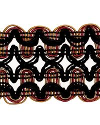 Black Fabric Trim Border  02119 Jewel