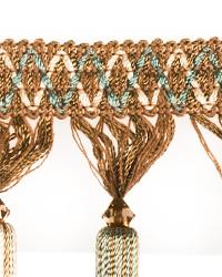 Green Beaded Trim  02123 Aquamarine