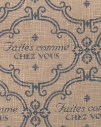 Blue Word Fabrics  02128 Cobalt