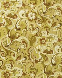 Brown Classic Paisley Fabric  02521 Clover