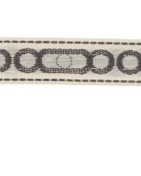 Grey Fabric Trim Border  02657 Natural