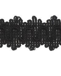 Black Gimp Trim  02866 Black