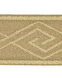 Brown Fabric Trim Border  02867 Antelope