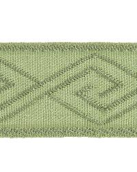 Green Fabric Trim Border  02867 Basil