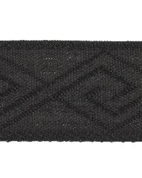 Black Fabric Trim Border  02867 Black