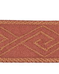 Orange Fabric Trim Border  02867 Brick