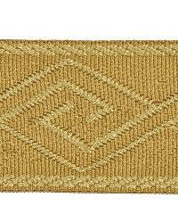 Brown Fabric Trim Border  02867 Camel
