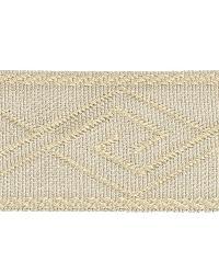 Grey Fabric Trim Border  02867 Cement
