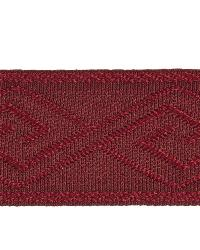 Red Fabric Trim Border  02867 Cherry