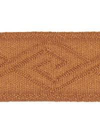 Orange Fabric Trim Border  02867 Copper