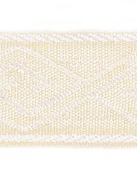 Grey Fabric Trim Border  02867 Ecru