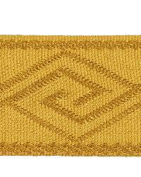 Gold Fabric Trim Border  02867 Gold