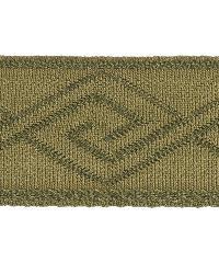 Green Fabric Trim Border  02867 Ivy