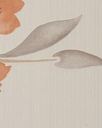 Enchanted Burnt Orange by  Thybony Wallcoverings